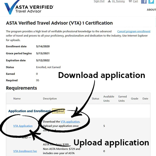 Apply for VTA