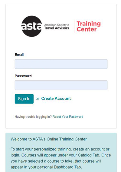 ASTA Training Center