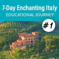 7-Day Enchanting Italy Educational Journey - May 2021