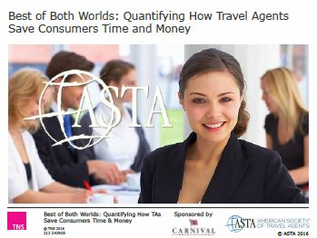 Quantifying How Travel Agents Save Consumers Time and Money<BR>Non-Member Price: $799.00<BR>Member Price: $399.00